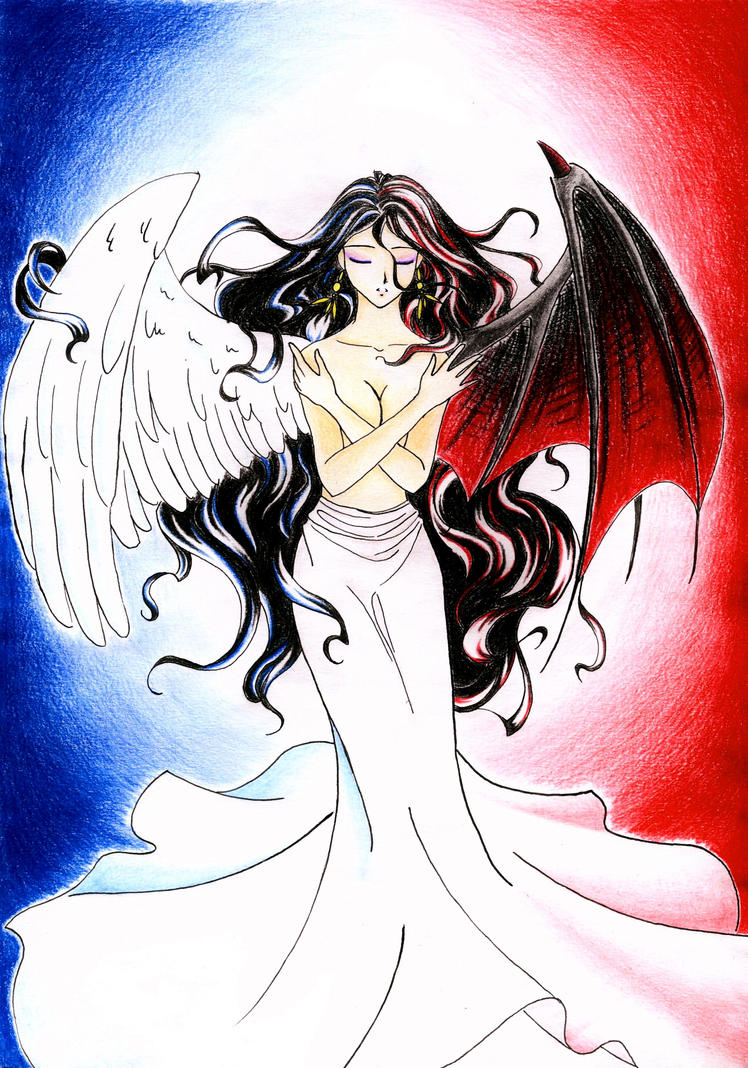 Anime Angel and Devil Girls