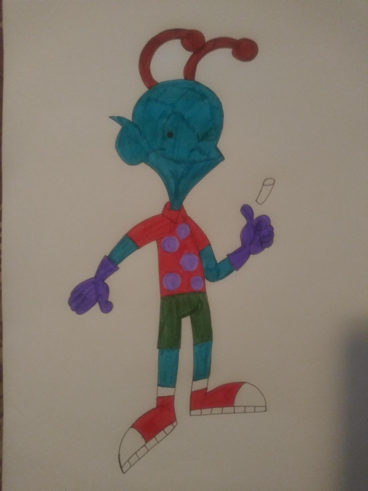 Art Jam: Lenny Boston (Chalkzone Style)