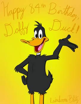 Happy 84th Birthday, Daffy Duck!