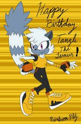 Happy Birthday, Tangle The Lemur!