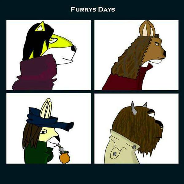 Furry Days by Raspulliver