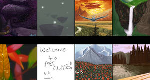 art class by Awehhh
