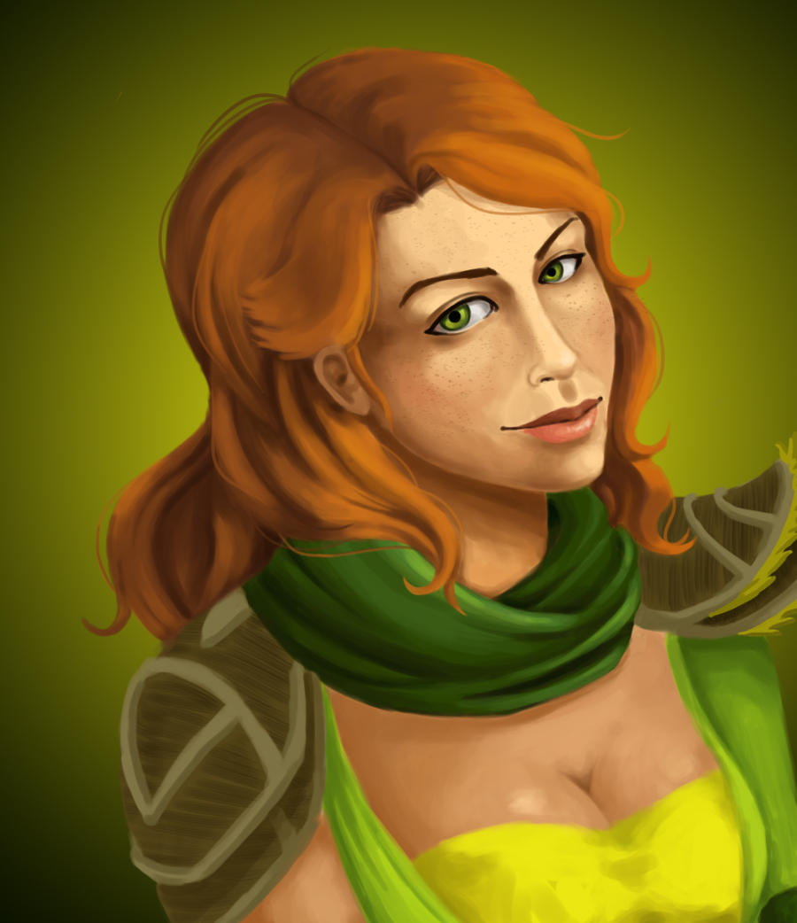 Lyralei, the Windrunner by Hawoot