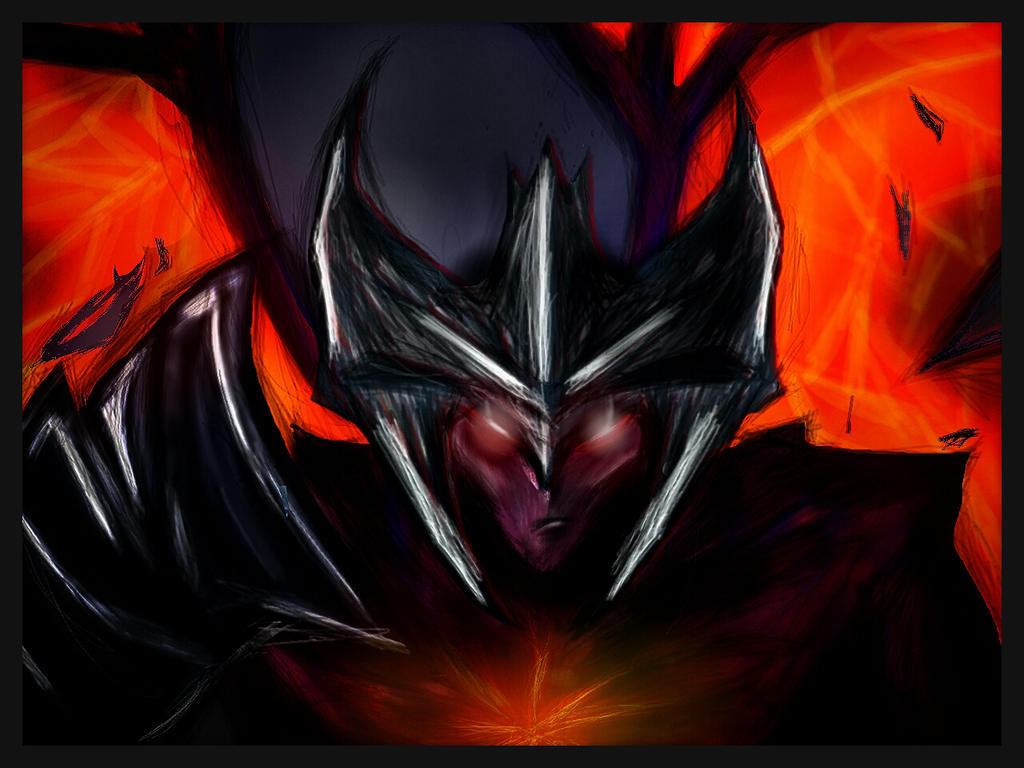Aatrox, The Darkin Blade by loljuny