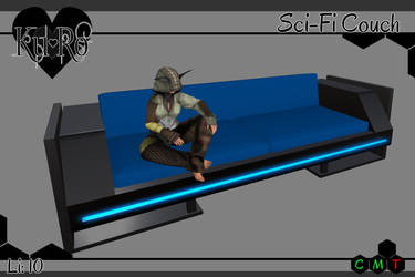 .:Ku+Ro:. Sci-Fi Couch by ShelKRiddle