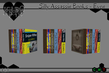 .:Ku+Ro:. Silly Assassin Books - Even by ShelKRiddle