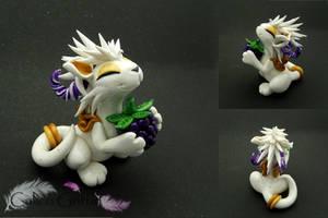 Granite White Dragon by CalicoGriffin