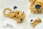 Dragon - Estrella serie - polymer clay