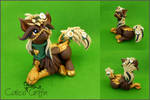 Custom: Hippogriff - polymer clay sculpture