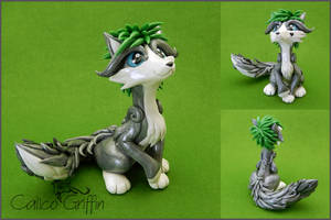 Custom order: Droopy the fox by CalicoGriffin