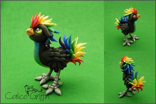 Custom: Rainbow Rooster
