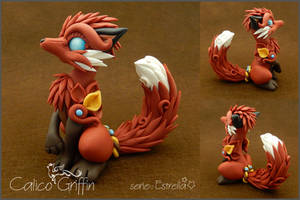 Estrella serie: Brown-red Kitsune by CalicoGriffin