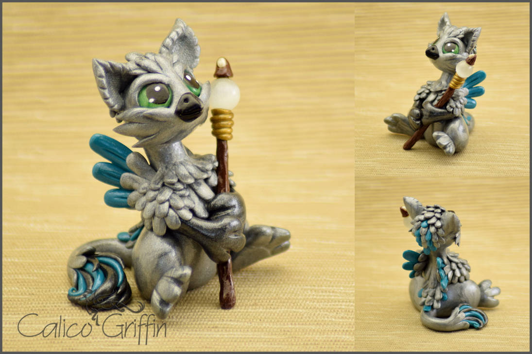 Custom figurine - Boowie by CalicoGriffin