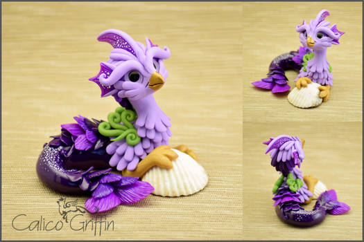 Kilian the Seagriff - polymer clay