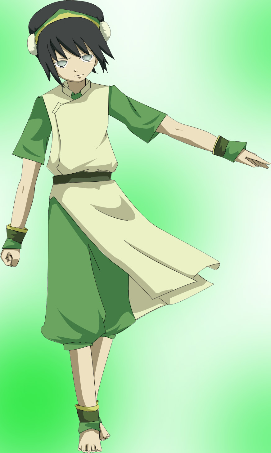 toph: grown-up anime style by sehika
