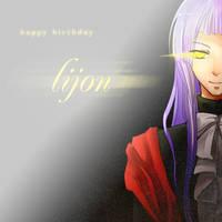 Happy Birthday Lij by sehika