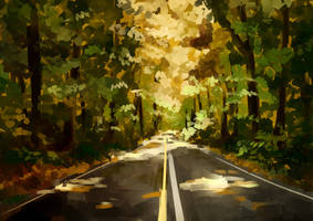 Autumn leaves by sehika