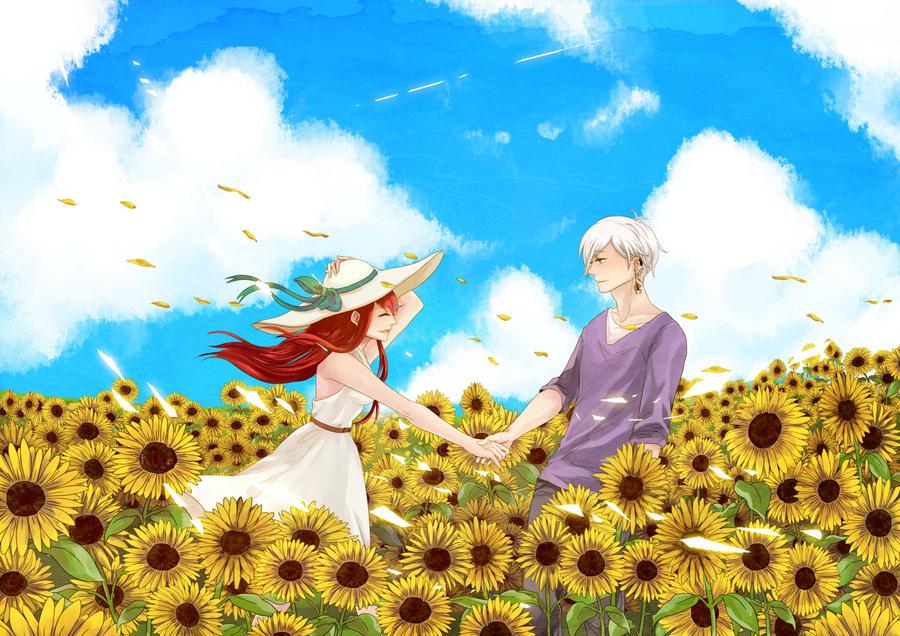 Sunflower Field by sehika