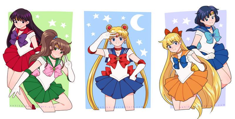 Sailor Senshi by sehika