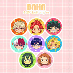 BNHA-buttonspromo by sehika