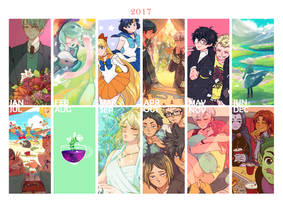 2017 art summary by sehika