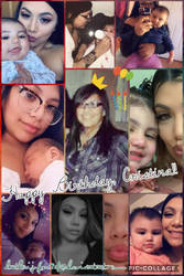 My sis' bday collage