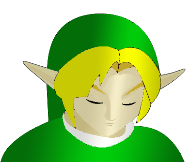 Link 3D try by phyconinja
