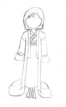 Nameless kimono girl