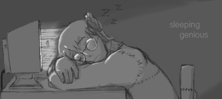 sleepy genious by jamew85