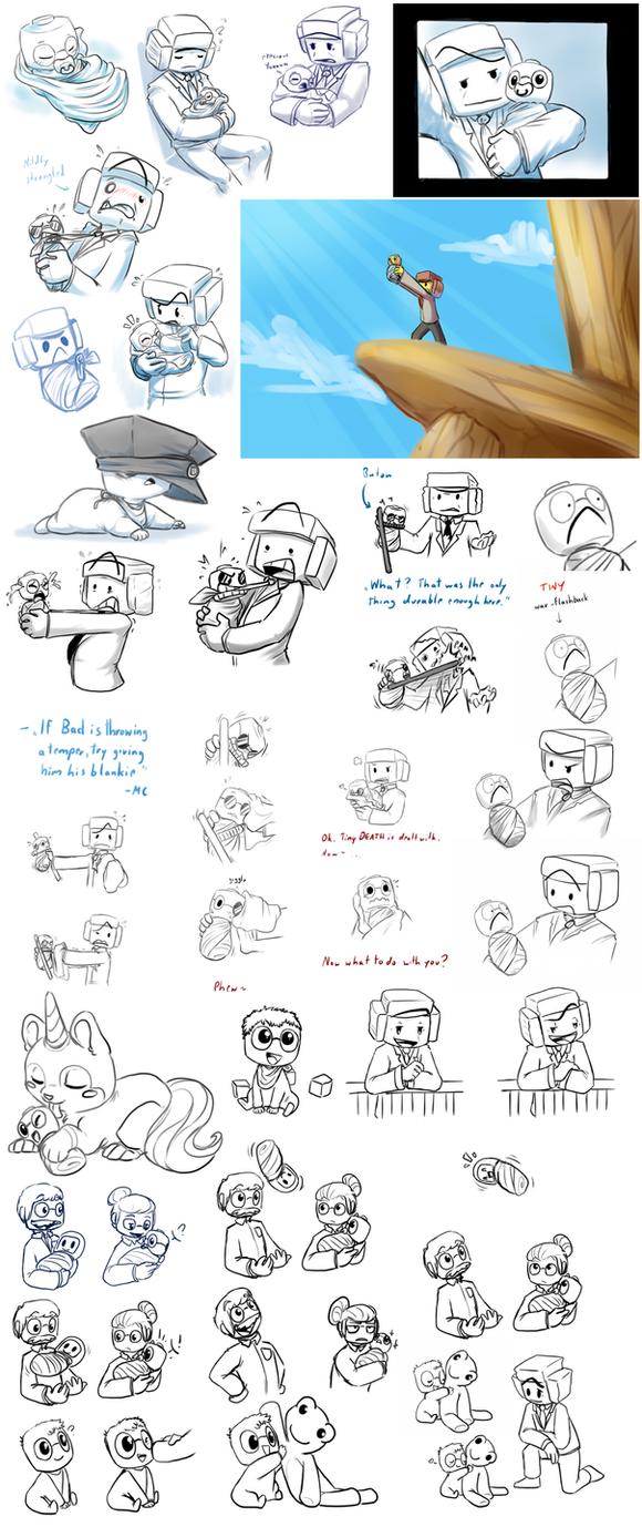 Lego Sketchdump15-BABYedition by jamew85