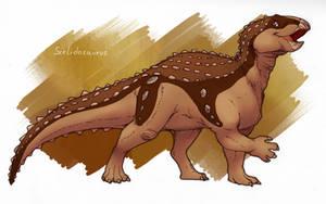 Scelidosaurus by cheetahtrout