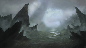 Landscape - Fantasy - Dark Valley