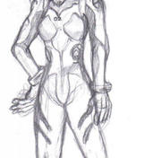 Plug Suit Asuka sketch by Stalinismo