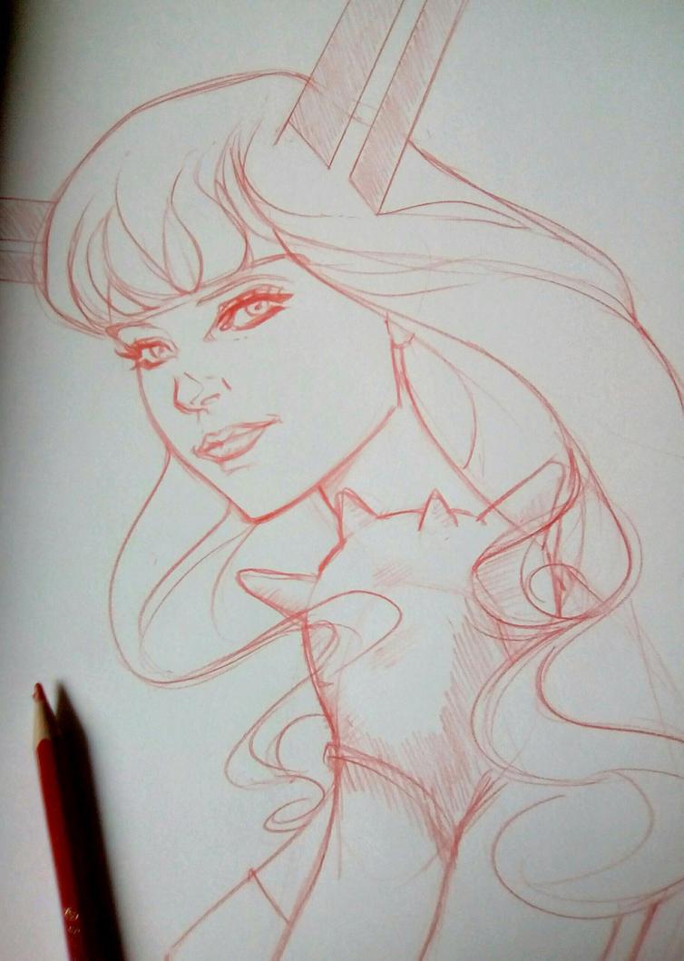 magik sketch by crunchbacardi