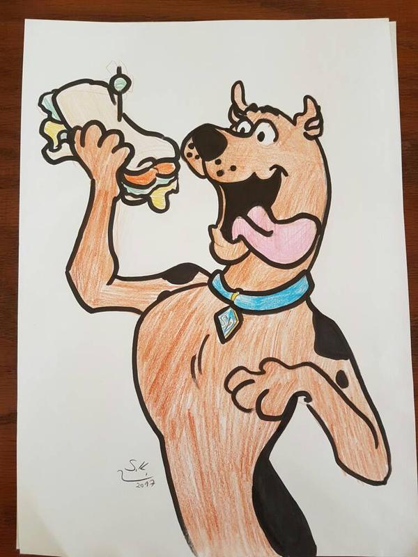Scooby doo by ShayKimchi