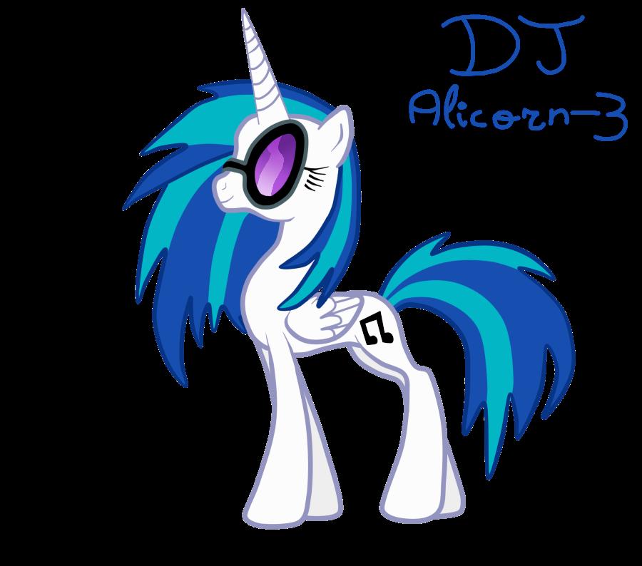 DJ Alicorn - 3 by LizaPicture