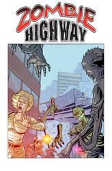 Zombie Highway Flyer by robtlsnyder