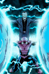 Spider-man and Stan Lee
