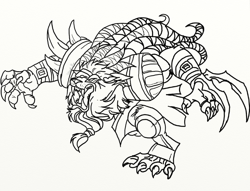 Monster Legends Coloring Pages Sketch Coloring Page: Fizz League Of Legends Of Coloring Pages Coloring Pages
