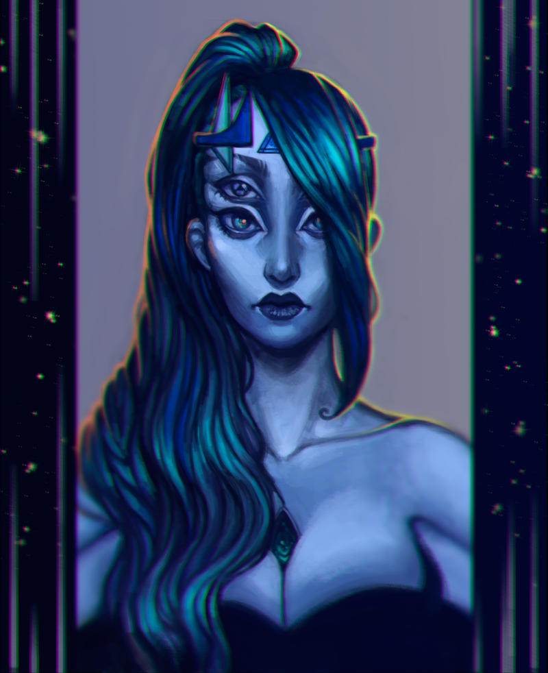 Commission: Azurite by LouiseSoMadness