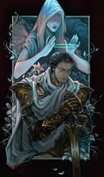Commission: Golden blue by LacticWanda