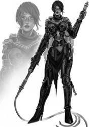Commission: Praetia by LacticWanda
