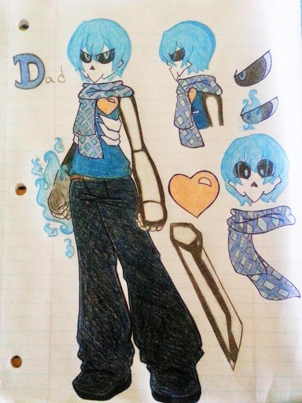 MSA: Skullsona - Hi Dad! by doubleZ129