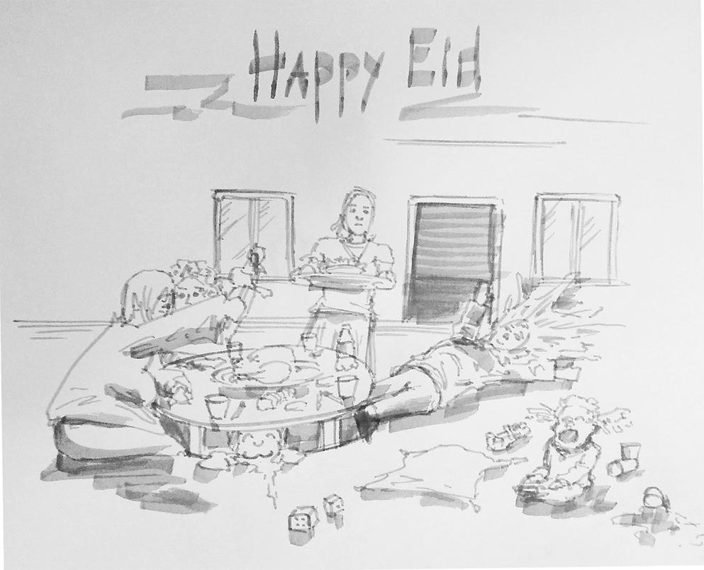 Quick Sketch - Eid by zmote