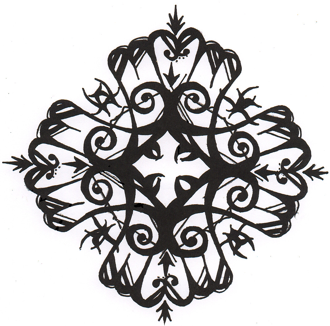 Gothic cross design by darkdragonlord774 on deviantart for Gothic painting ideas