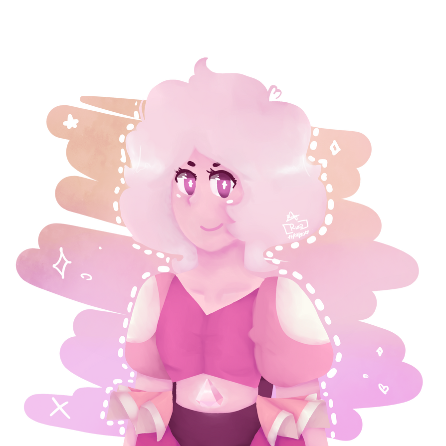 -English- Hmmh, here a little drawing of Pink Diamond. I didn't really liked it, but i'm uploading it beause... Idk. Anyway, hope you like it   -Español- Hmmh, aquí un pequeño d...