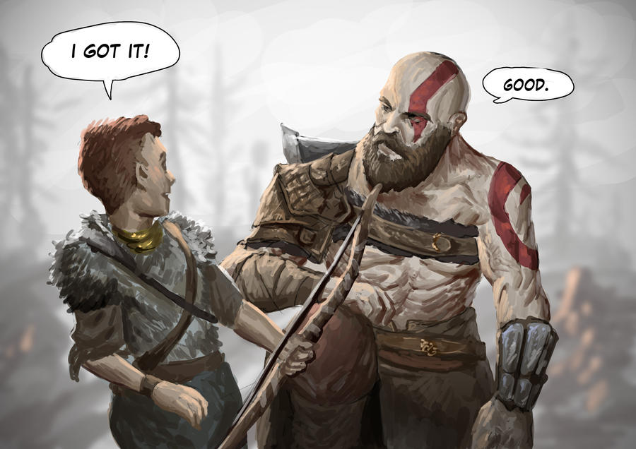 Happy Father's Day, Kratos by SaneKyle on DeviantArt
