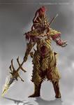 Grimdark Souls - Dragonslayer Ornstein