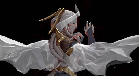 Moth's Dance WiP by SaneKyle