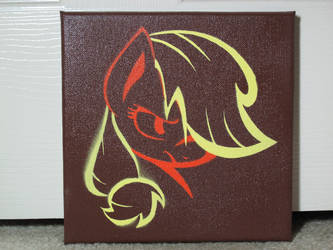 Applejack Stencil Painting